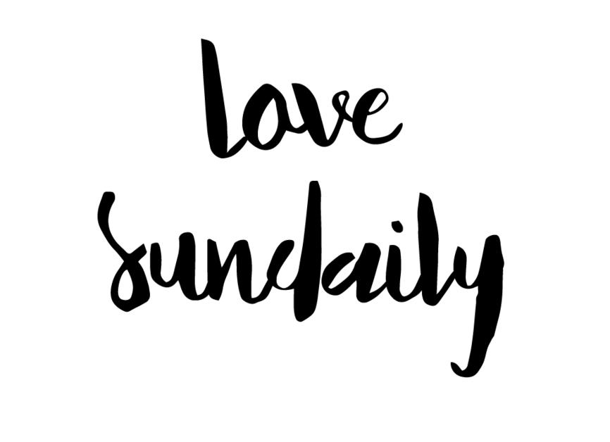 Love Sundaily